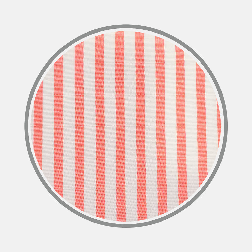 Pink Candy Stripe Cotton Fabric