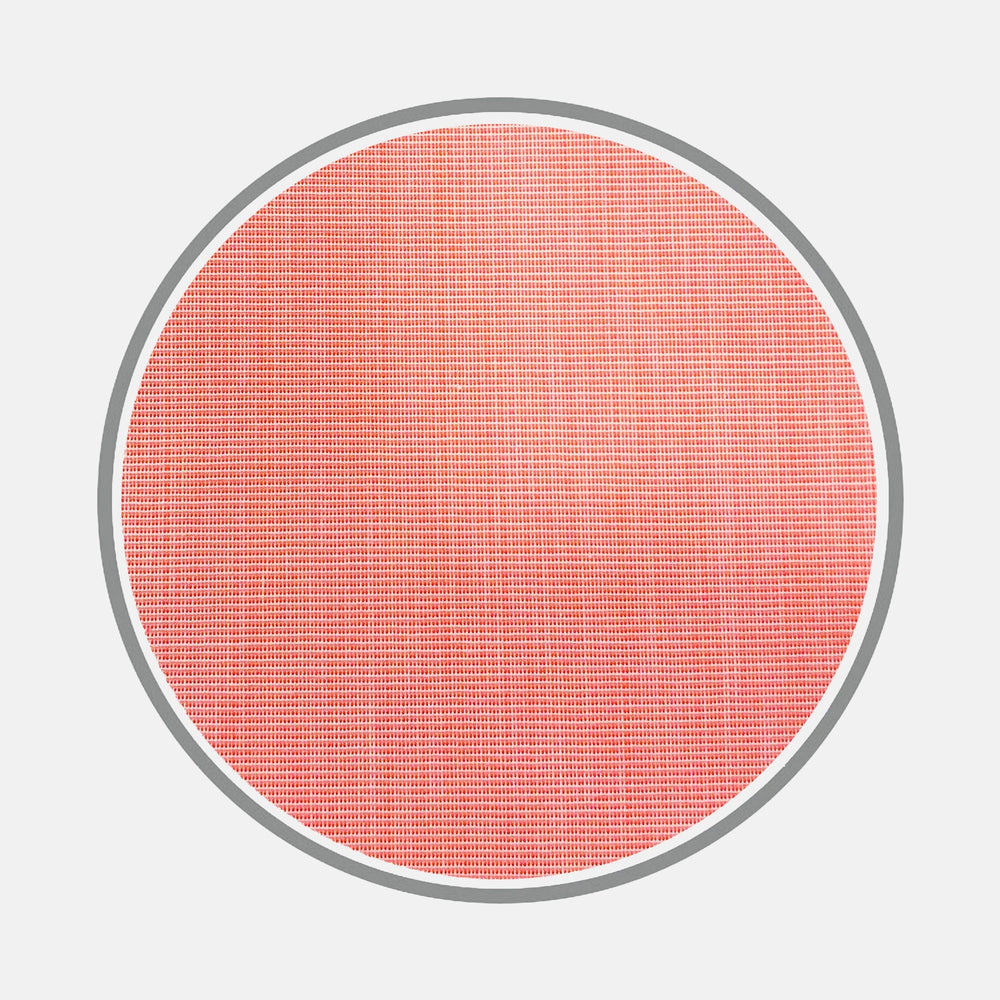 Coral Red End-on-End Cotton Fabric