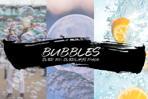 BUBBLES - OVER 200+ OVERLAYS PACK - Astropanel.it