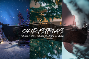 CHRISTMAS - OVER 200+ OVERLAYS PACK - Astro Panel