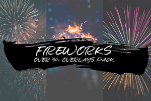 FIREWORKS - OVER 50+ OVERLAYS PACK - Astropanel.it