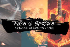 FIRE & SMOKE - OVER 200+ OVERLAYS PACK - Astro Panel