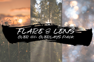 FLARE & LENS - OVER 600+ OVERLAYS PACK - Astro Panel