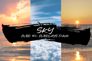 SKY - OVER 400+ OVERLAYS PACK - Astro Panel