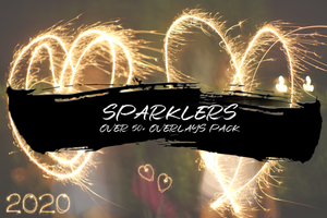 SPARKLERS - OVER 50+ OVERLAYS PACK - Astro Panel
