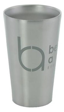 Beyond Aero Steely's Double Wall Insulated Stainless Pint - Beyond Aero