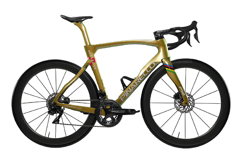 Pinarello Dogma F12 Grenadier Gold Limited Edition Frameset - Beyond Aero