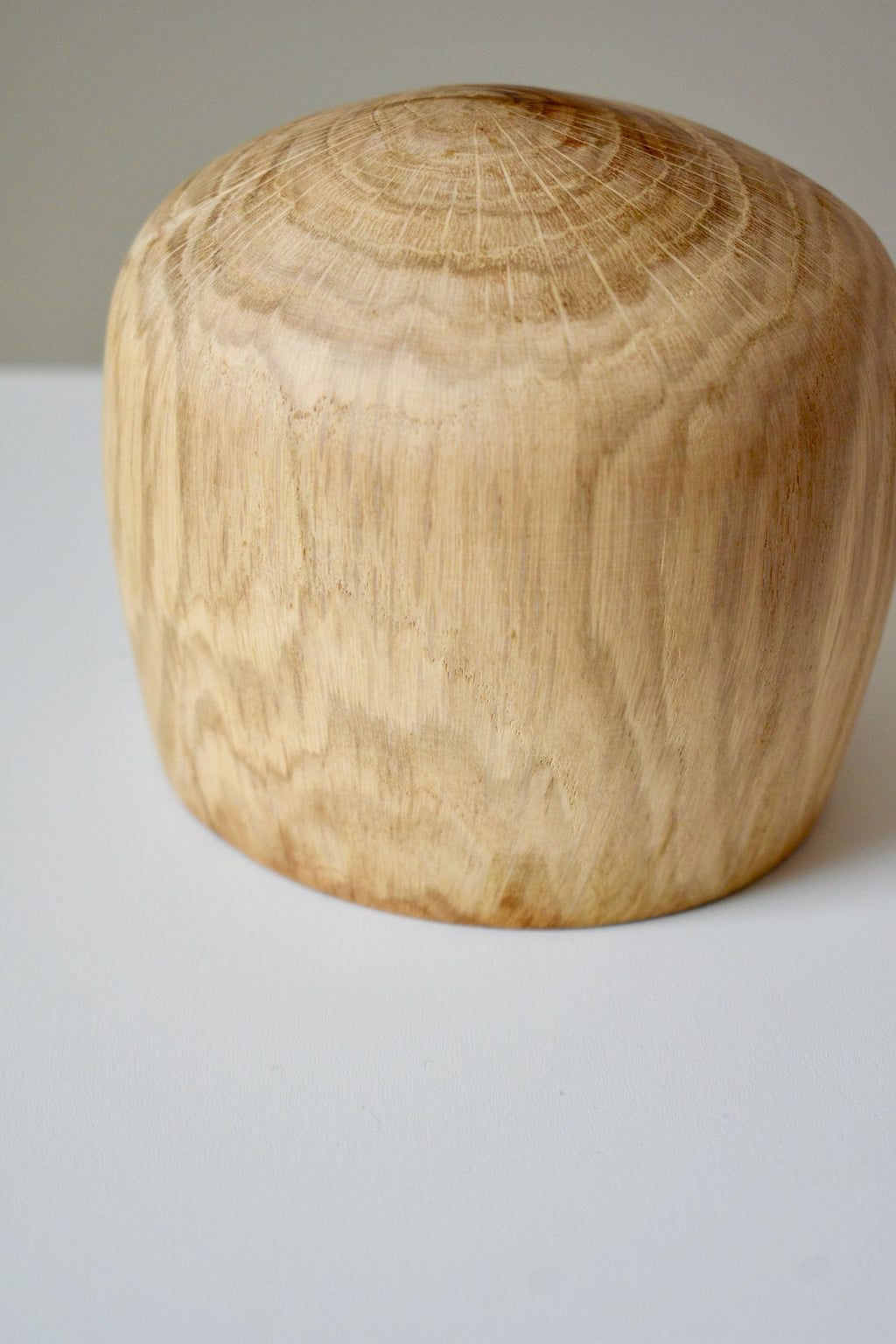 Wax Oak Bowl
