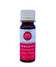 Load image into Gallery viewer, Immunity Shot: Beet + Ginger + Turmeric + Coffee with Adaptogens (Pack of 12)