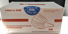 Load image into Gallery viewer, Disposal Medical Mask Ready to Ship within 3 business days from US warehouse:  (50 masks per case)