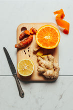 Load image into Gallery viewer, Immunity Shot: Immunity = Ginger + Lemon + Turmeric with Adaptogens (Pack of 12)