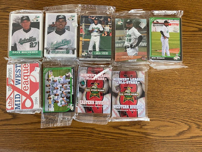 Clinton LumberKings Select 2000s Card Set