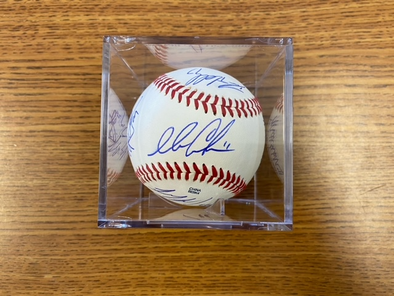 2016 Clinton LumberKing Signed Baseball