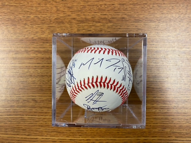 2019 Clinton LumberKing Signed Baseball