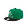 Clinton LumberKings 59Fifty Green Alt. CL Logo Cap