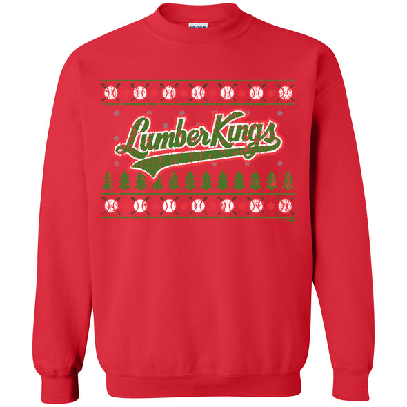 Clinton LumberKings Holiday Script Sweatshirt