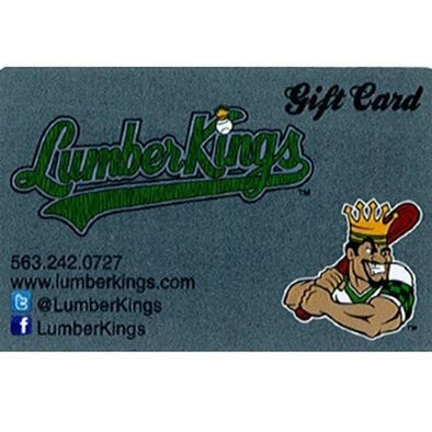 Clinton LumberKings LumberKings $20 Gift Card