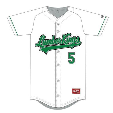 Clinton LumberKings Custom Replica Jersey