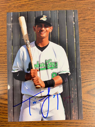 #8 Signed Timmy Lopes Photo
