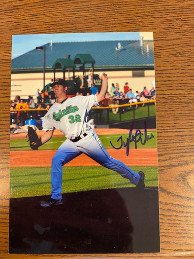 #38 Signed Tyler Pike Photo