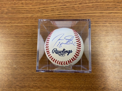 2016 Clinton LumberKings Signed Baseball