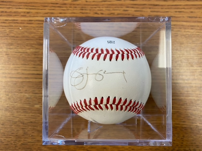Jim Leyland Signed Baseball
