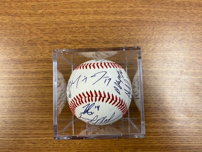 2019 Clinton LumberKings Signed Baseball