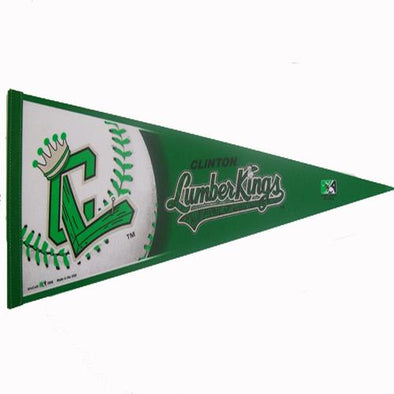 Clinton LumberKings Pennant