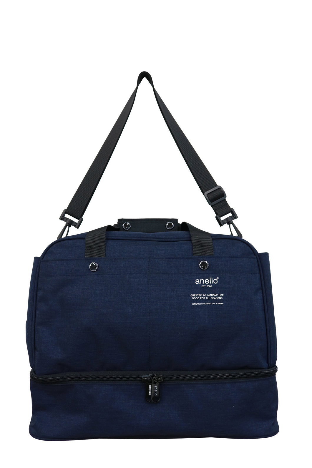 anello / 2Way Mini Boston Bag AT-B3243 Navy