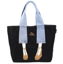 Load image into Gallery viewer, Mis Zapatos / Denim Pants Tote Bag B-6346