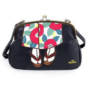 Mis Zapatos / Kimono Gusset 3Way Shoulder Bag B-6507
