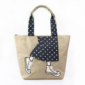 mis zapatos / Pattern Skirt Tote Bag B-7032