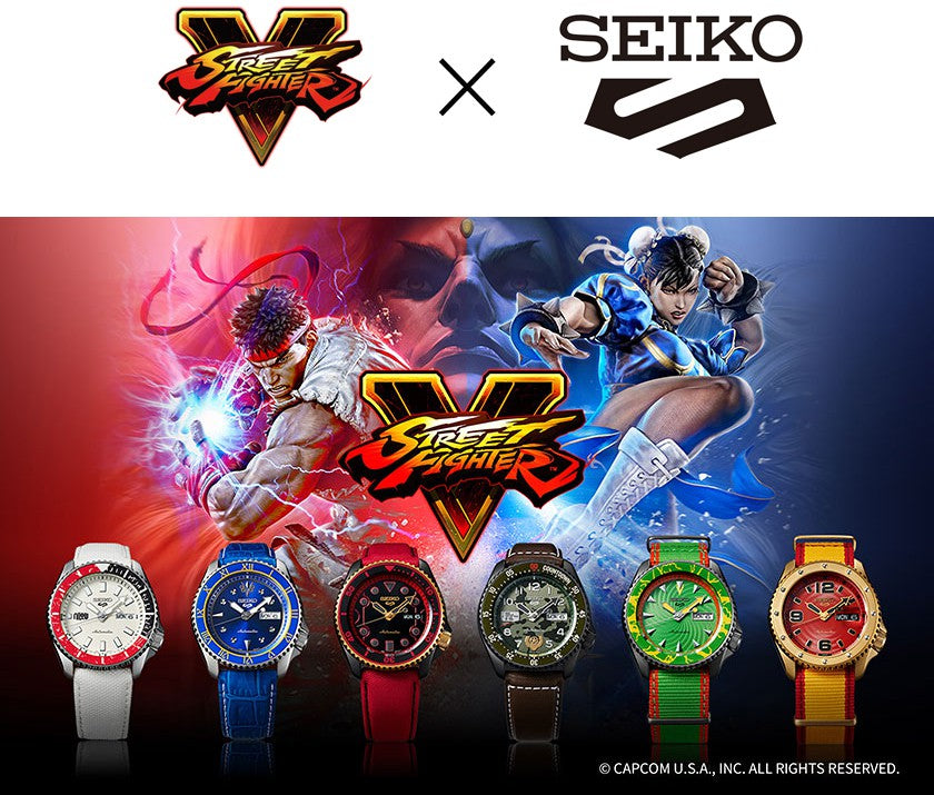 SEIKO S STREET FIGHTER