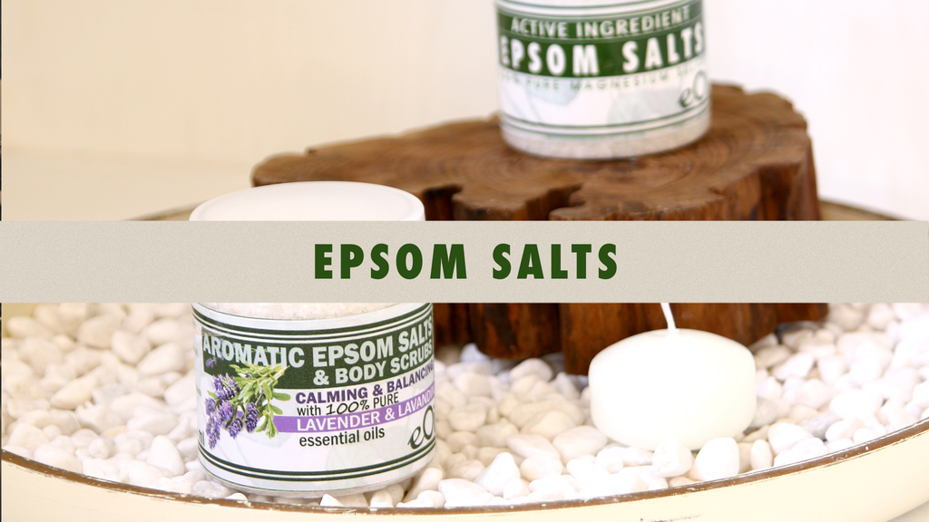 Epsom Salts with essential oils