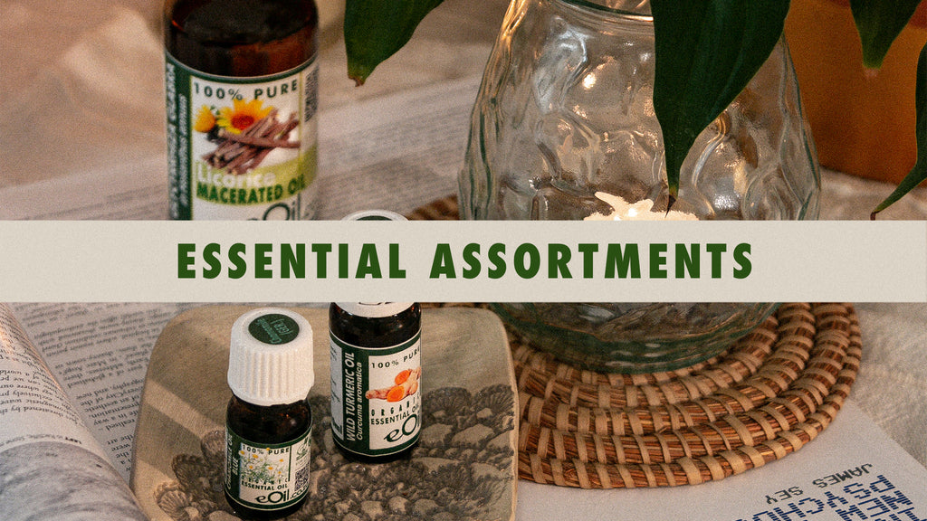 eOil.co.za essential oils assortments collection page