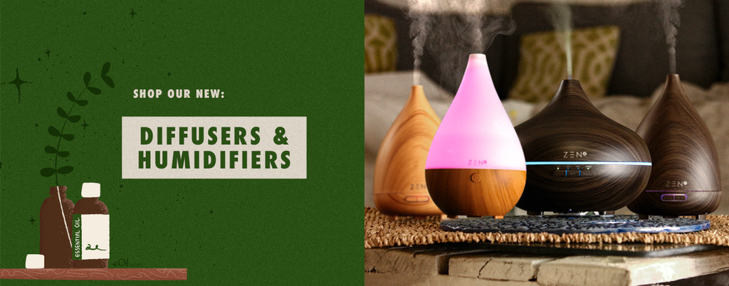 diffusers and massage candles for your essential oils diffusion. bring fresh natural and healthy lifestyle and routine in your home for natural life