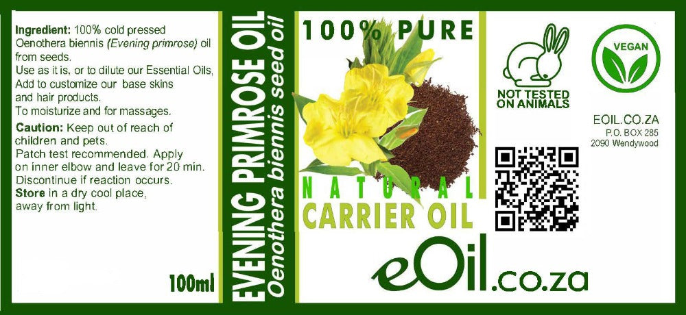 EVENING PRIMROSE SEED OIL CARRIER Oenothera biennis L. 100 ml