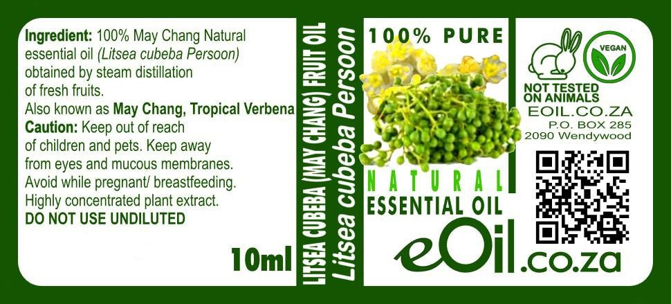 Litsea Cubeba May Chang Tropical Verbenone 10 ml