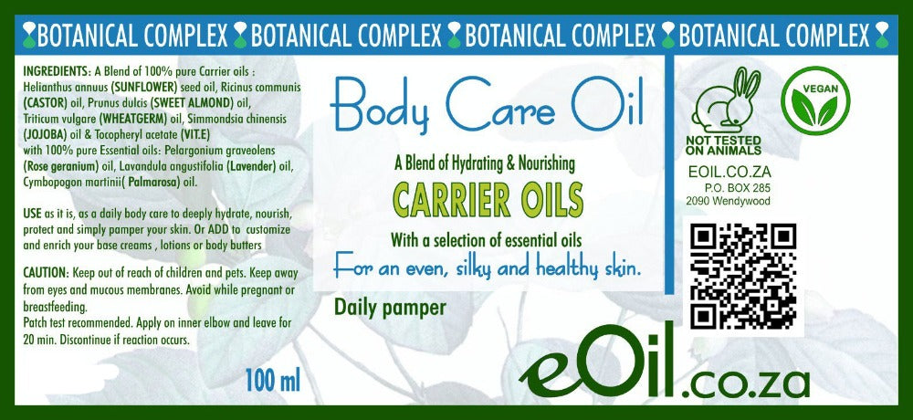eoil.co.za tissue oil body oil body care botanical complex for even silky and healthy skin daily pampering pamper