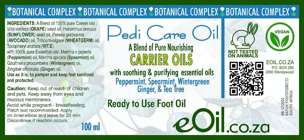 Pedi Care Oil Body oil - botanical complex ready to use 100 ml