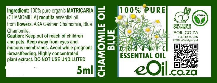 Chamomile Blue (Matricaria recutita) Essential Oil 5 ml