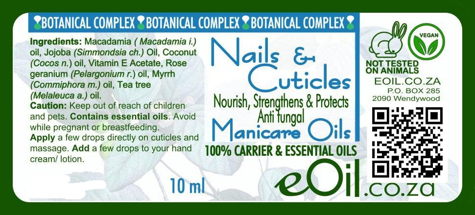Nails & Cuticles Manicare Body oil - Botanical Complex 10 ml