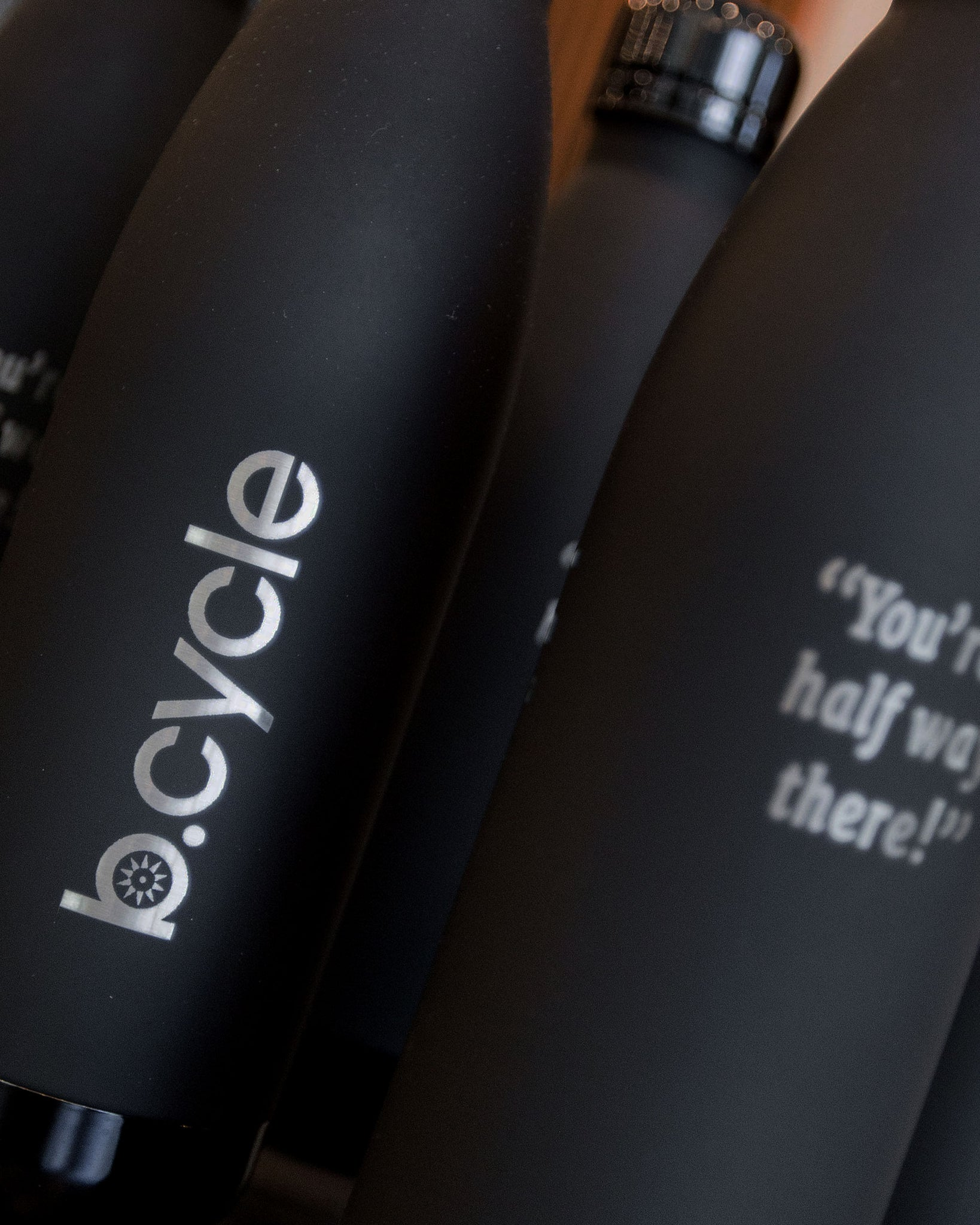 "Water Bottle - b.cycle ""Halfway There"" Insulated"