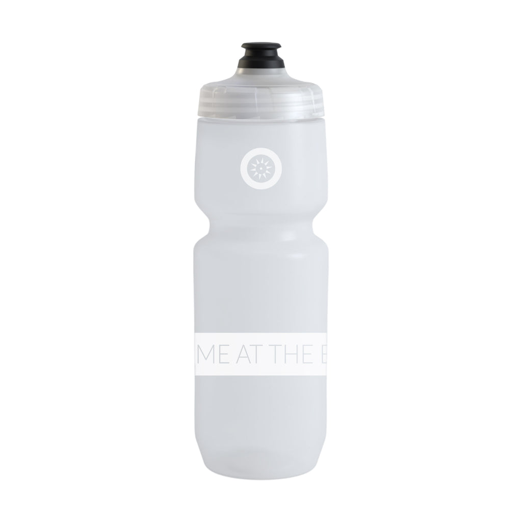 "Water Bottle - Purist ""Meet me at the barre"""