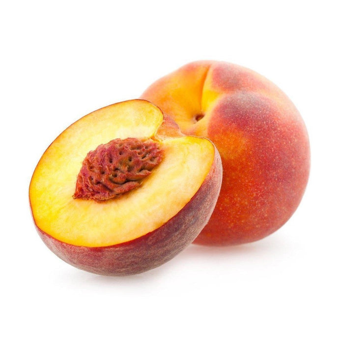 Organic yellow/white Peaches
