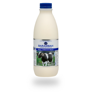 Full Cream organic milk