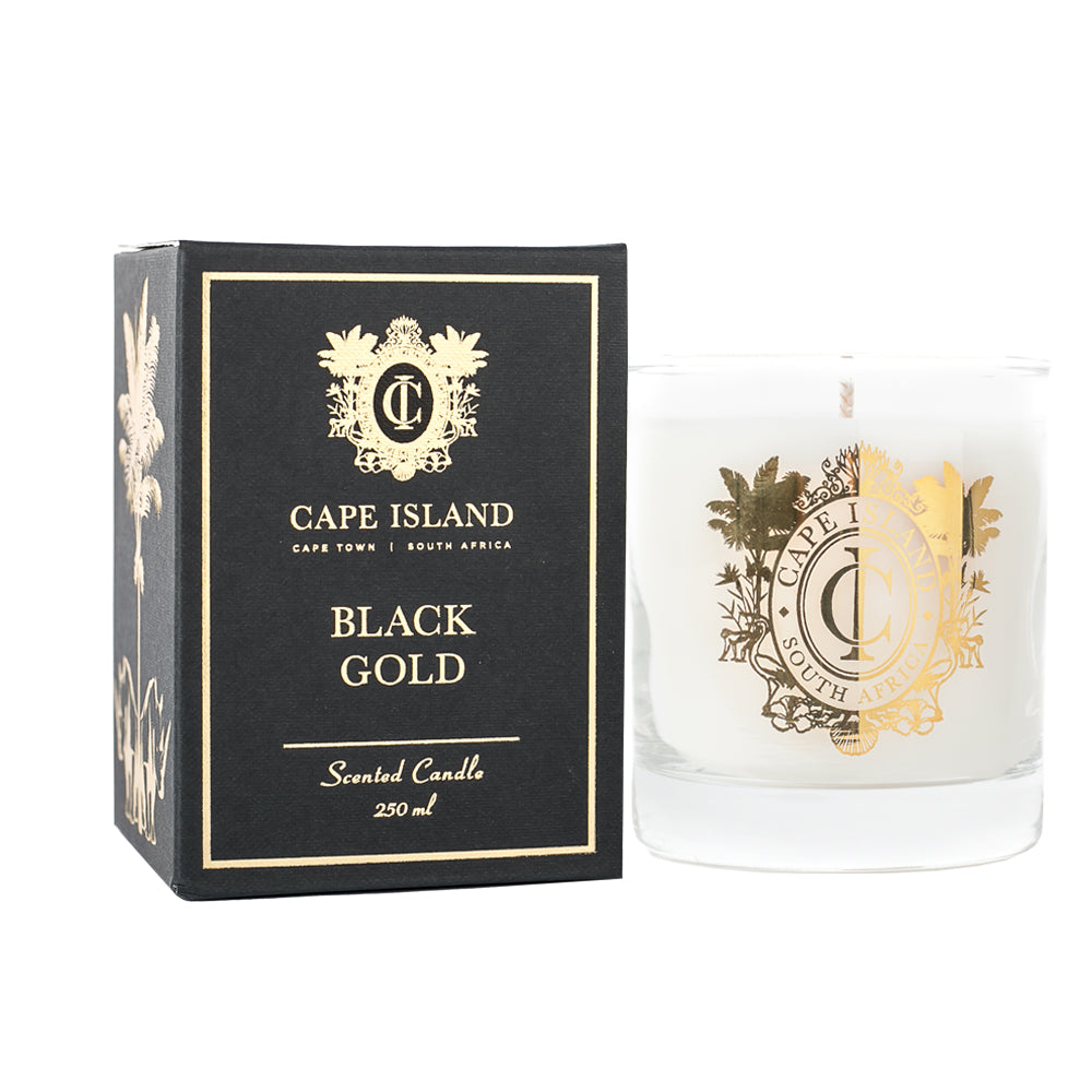 Scented Candle - Black Gold , Accessories - A Brief Affair