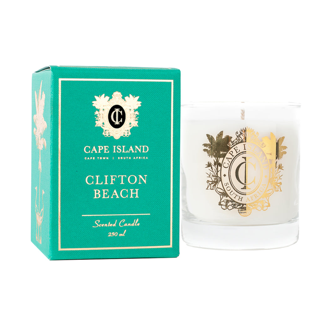 Scented Candle - Clifton Beach , Accessories - A Brief Affair