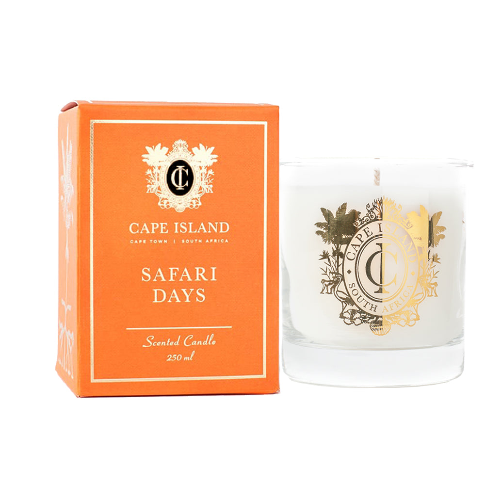 Scented Candle - Safari Days , Accessories - A Brief Affair