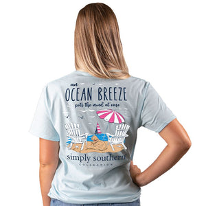 Simply Southern Breeze SS Tee Ice